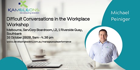 Difficult Conversations in the Workplace - 16 October 2020 tickets