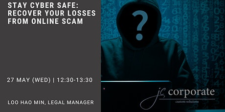 Stay Cyber Safe: Recover Your Losses from Online Scam tickets