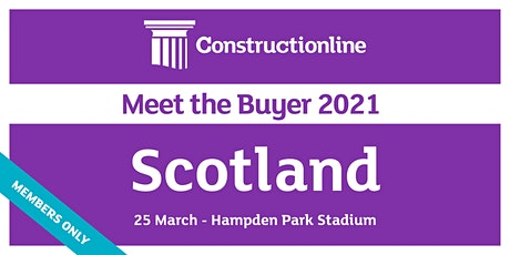 Scotland Constructionline Meet the Buyer 2021 tickets