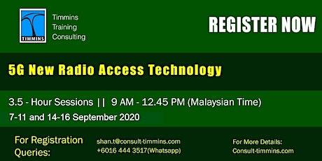 Webinar - 5G New Radio Access Technology tickets