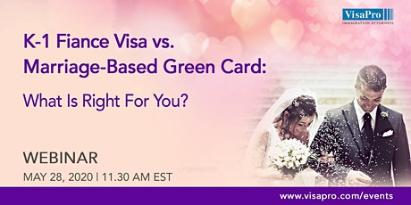 K-1 Fiance Visa vs. Marriage-Based Green Card: What Is Right For You? tickets