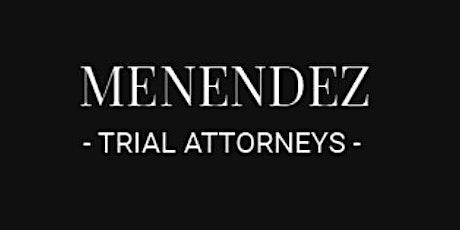 Menendez Trial Attorneys tickets