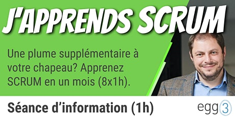 J'apprends SCRUM (séance d'information) billets