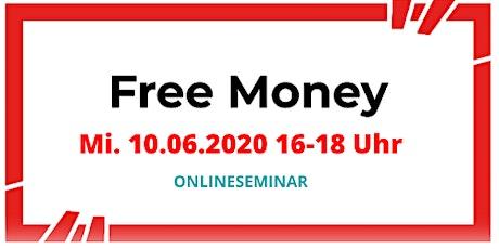Free Money - Stipendien und Förderungen für Gründer_innen Tickets