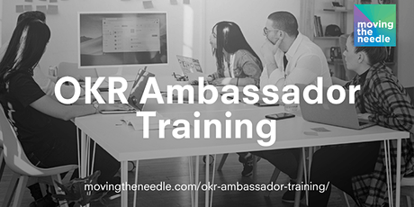 Virtual OKR Ambassador Training entradas