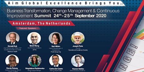 Business Transformation & Continuous Improvement Summit tickets