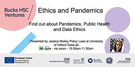 Pandemics, Public Health and Data Ethics tickets