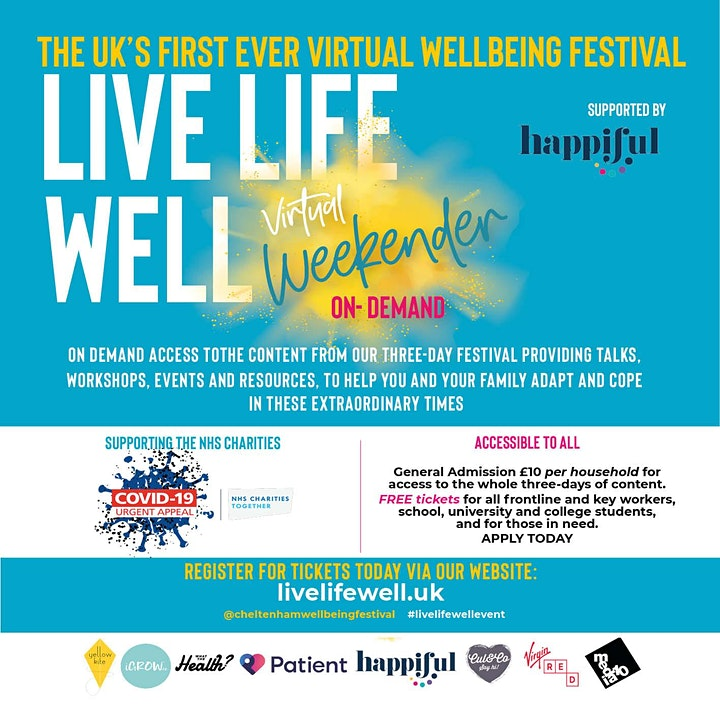 LIVE LIFE WELL WEEKENDER ON DEMAND image