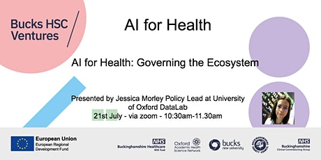AI for Health: Governing the Ecosystem tickets