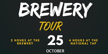 Grey Trees Brewery Tour  25 Oct 2020 tickets