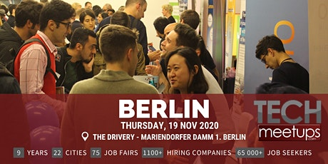 Berlin Tech Job Fair Autumn 2020 By Techmeetups tickets