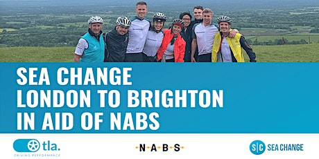London to Brighton Cycle 2020 in aid of NABS tickets