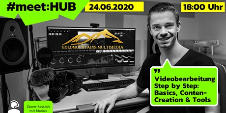Videobearbeitung Step by Step: Basics, Content-Creation & Tools tickets