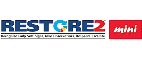 RESTORE2 Mini training for Devon Care Home and Domiciliary Care Providers tickets