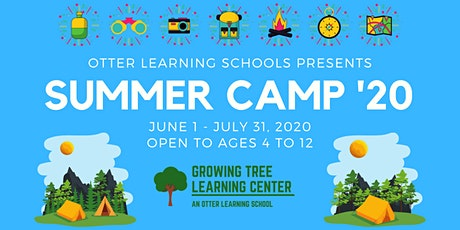 2020 Growing Tree Summer Camp tickets
