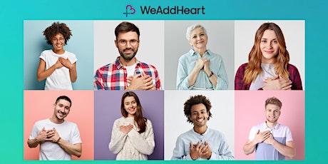 We Add Heart - demo voor HMprofessionals tickets