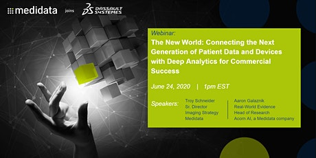 The New World: Connecting Patient Data and Devices with Deep Analytics tickets