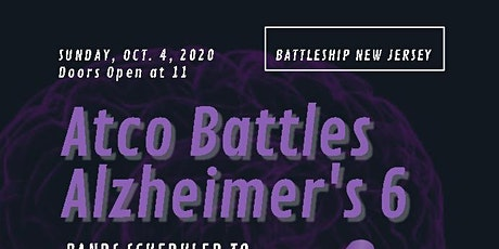 Atco Battles Alzheimer's 6. New Date! tickets