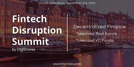 Fintech Disruption Summit 2020 tickets