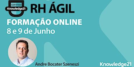 RH Ágil (Online, Lisboa - 08 e 09 de junho) bilhetes