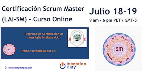 Curso Online de Certificación Scrum Master - Lean Agile Institute entradas