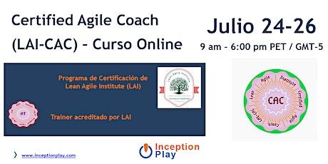 Certified Agile Coaching con Certificación LAI-CAC billets