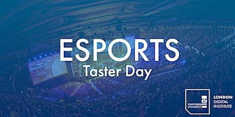 Staffordshire University London Esports Taster Day #MySULSubject tickets