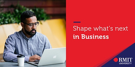 Shape what's next: what studying Business will look like in 2020 tickets