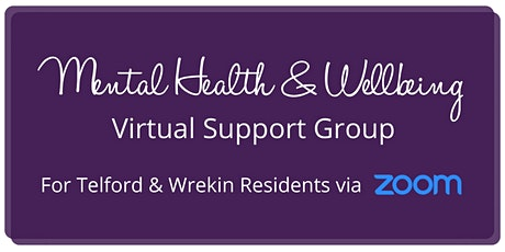 Mental Health & Wellbeing Support Group tickets