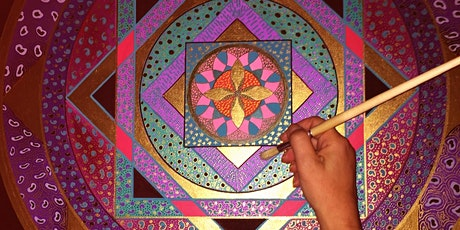 Creative Cocooners: Healing Creations Mandala and Meditation Online Session tickets