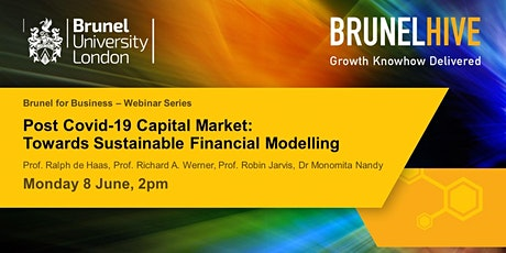 Brunel for Business - Webinar Series : Post Covid-19 Capital Market tickets