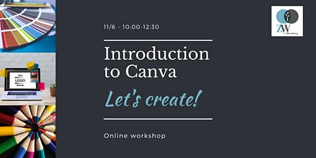 Introduction to Canva Online Workshop tickets