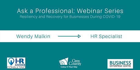 Ask a Professional Webinar Series (HR Specialist) tickets