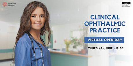 Clinical Ophthalmic Practice - Virtual Open Day tickets
