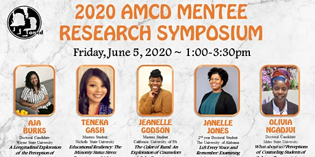 AMCD Mentee Research Symposium tickets