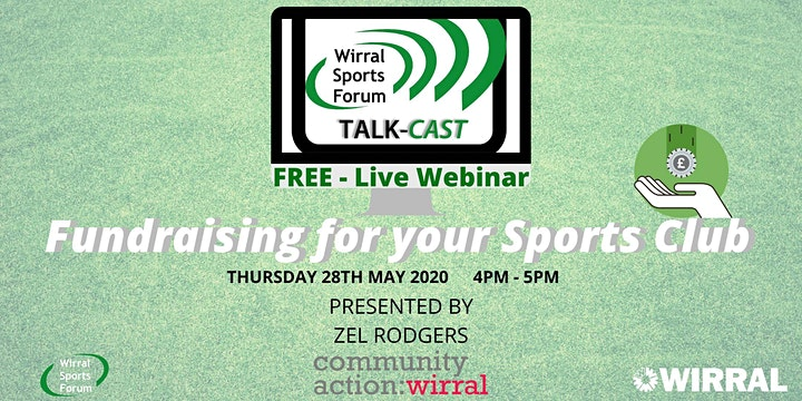 Live Webcast on fund raising for sports clubs image