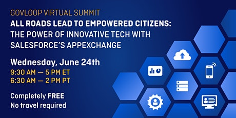 All Roads Lead to Empowered Citizens: The Power of Innovative Tech With Salesforce's AppExchange tickets