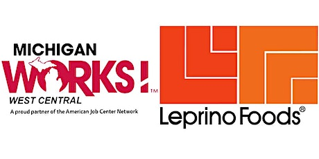 Michigan Works! West Central Virtual Job Fair for Leprino Foods tickets
