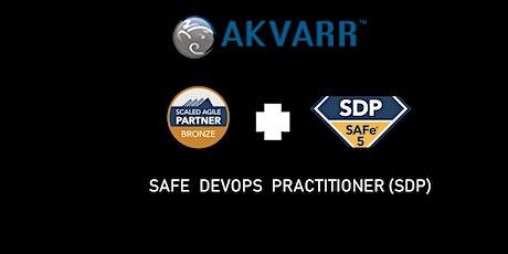 Akvarr: SAFe DevOps Practitioner (SDP) tickets