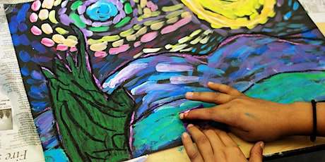 Online lesson Painting like Van Gogh and Pablo Picasso for 8-12 year olds tickets
