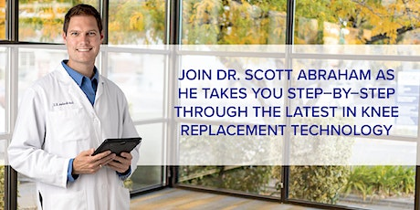 Knee pain? Let us help you get rid of it for good! Free Knee Pain Webinar on the Latest Robotics–Assisted Technology tickets