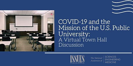 COVID-19 and the Mission of the U.S. Public University (VIRTUAL) tickets