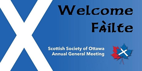 Scottish Society of Ottawa 2020 8th Annual General Meeting tickets