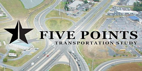 5 Points Transportation Study: Virtual Open House Drop-in Session, May 29th tickets