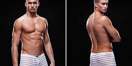 Guia de roupas íntimas masculinas. Cuecas ingressos