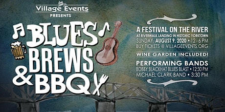 Yorktown's Blues, Brews & BBQ August 9, 2020 tickets