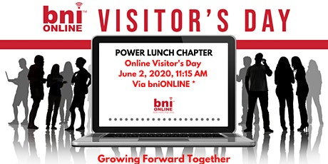 BNI Online: Visitor's Day June 2, 2020 tickets