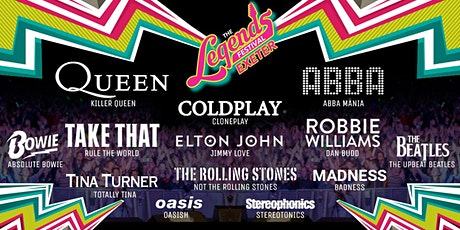 The Legends Festival  - Westpoint Showground, Exeter tickets