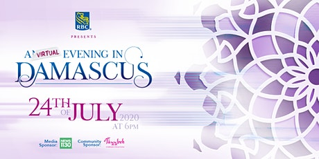 RBC Presents: A Virtual Evening in Damascus tickets