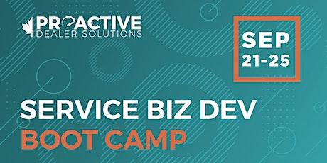September  - Canadian Biz Dev Boot Camp Service tickets